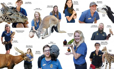Get To Know Some of the Zoo Keepers at Nashville Zoo