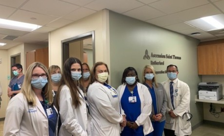 Saint Thomas Rutherford Celebrates Opening of New Perioperative Medicine Clinic