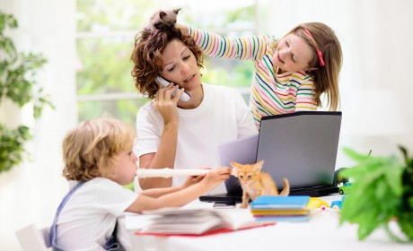 Pandemic Parenting: Easy Does it At Home