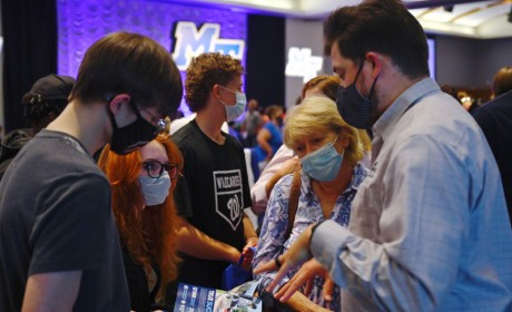 Happening Today: MTSU Hosts Rutherford County College Night
