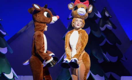 Mom Report: Rudolph Classic Comes to Life Onstage
