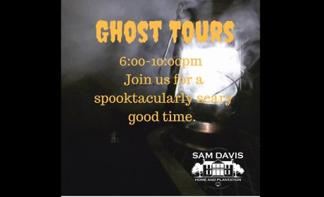 Sam Davis Home Ghost Tours Run Through Oct. 26