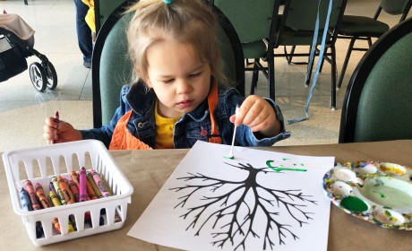 Kid-Friendly Tuesdays for Tots at Cheekwood