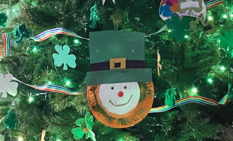 Fun Indoor Project: St. Paddy's Day Tree