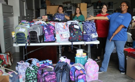Rutherford County Sheriff's Office Helps Children Get Ready for School