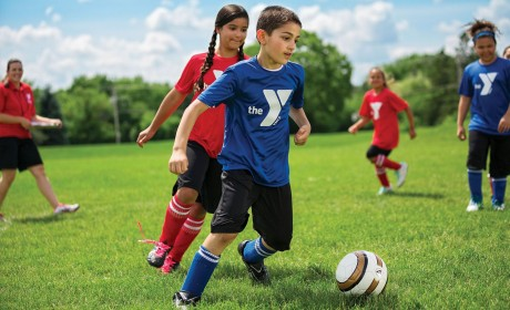 Free YMCA Soccer Clinic for Kids on 8/3