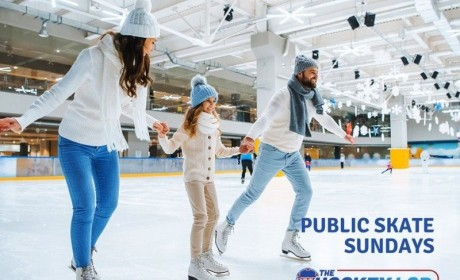 The Hockey Lab Offering Public Ice Skating Through Jan. 31