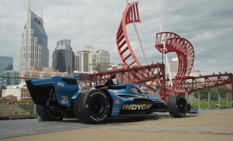 Indycar Series Race Debuts in Nashville Next Year