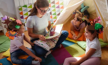 Parents Seek Nanny to Care Give and Teach in Pod