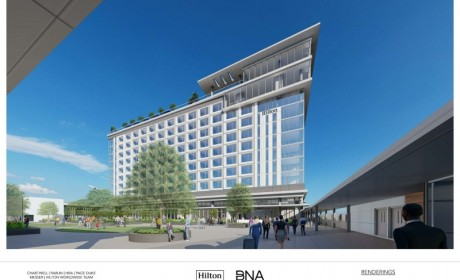 World-Class On-Airport Hilton Hotel Coming to BNA