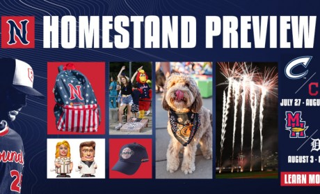 Sounds Return to First Horizon Park on July 27 to Begin 13-Game Homestand