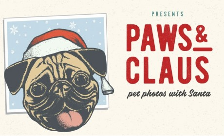Paws & Claus: Pet Photos with Santa at Stones River Mall