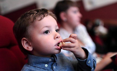 Keep Popcorn Away from Toddlers!
