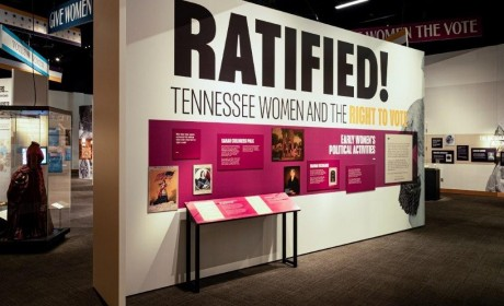 History of Women's Suffrage Exhibit Extended at TN State Museum