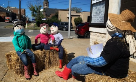 Search For Scarecrows in Downtown Murfreesboro This October