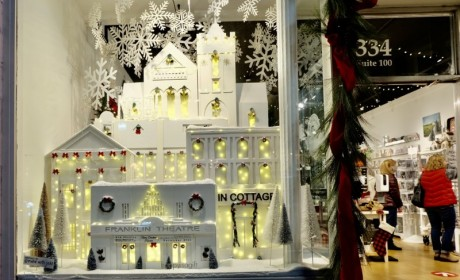 Downtown Franklin Holiday Store Window Display Contest Underway