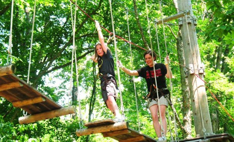 Treetop Adventure Park at Nashville Shores Now Open