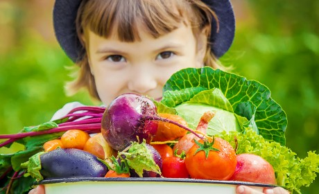 Can a Kid REALLY Learn to Eat Veggies?