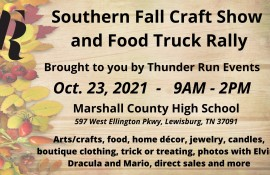 Southern Fall Craft Fair and Food Truck Rally