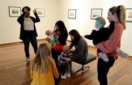 Babies in the Gallery