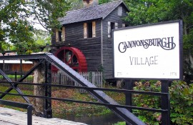 Make Pictures of the Historical Cannonsburgh Village
