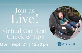 Chicco's Virtual Car Seat Check (Online)