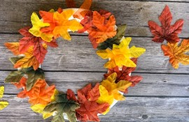 Fall Wreath Craft for Children at Wilderness Station