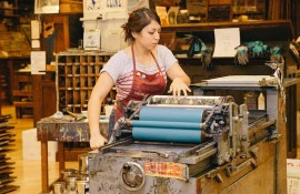 Family Program: Make Letterpress Art