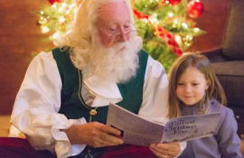 Santa Visit at Cheekwood