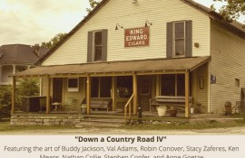 Down a Country Road at Theta General Store