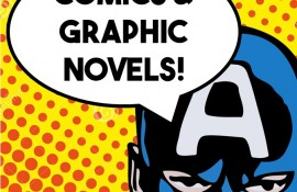 Comics and Graphic Novels Group at Linebaugh
