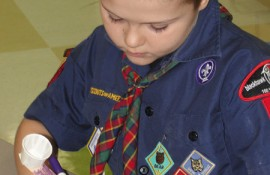 Scout-urdays at Discovery Center