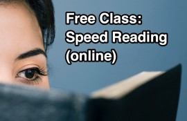 Speed Reading Class (Online)
