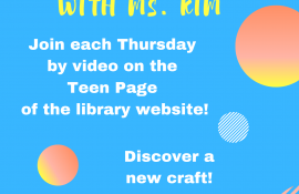 Teens at HPL with Ms. Kim (Online)