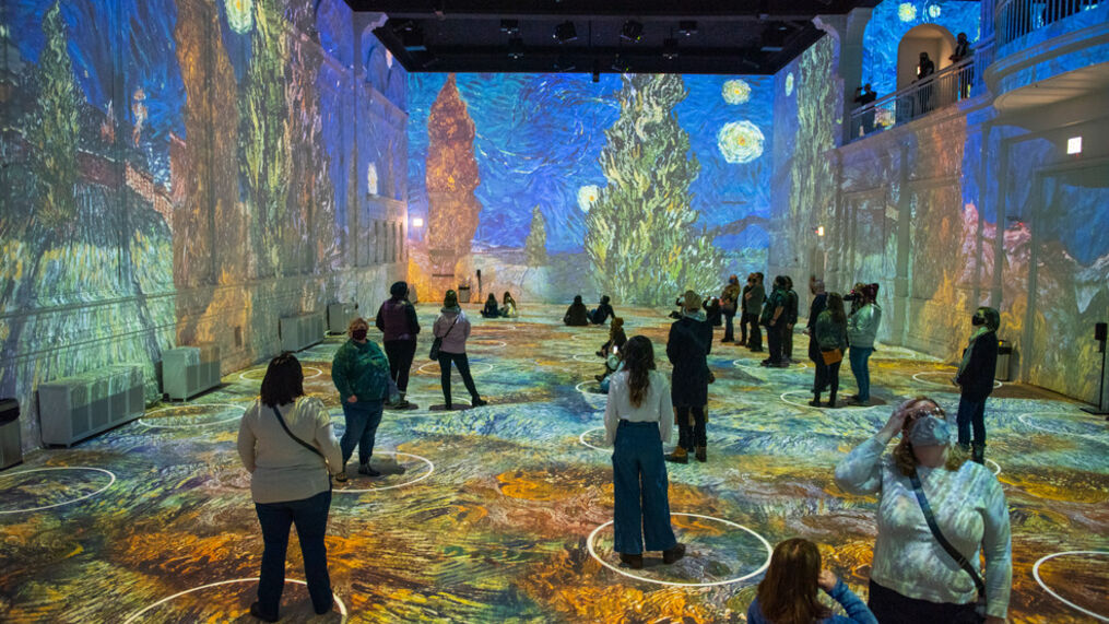 Immersive Van Gogh Digital Art Exhibit Coming to Nashville
