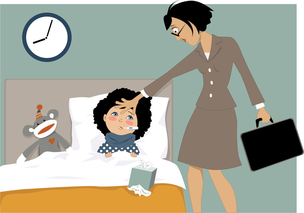 Working Mom's Guide to Sick Days ... First Things First!
