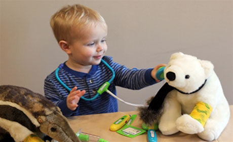 A Teddy Bear Clinic at the Zoo